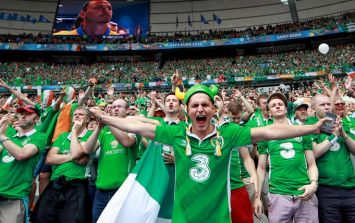 The wonderful sportsmanship of Irish supporters is to be honoured by the Mayor of Paris