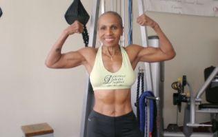 The world's oldest female bodybuilder just celebrated a big birthday