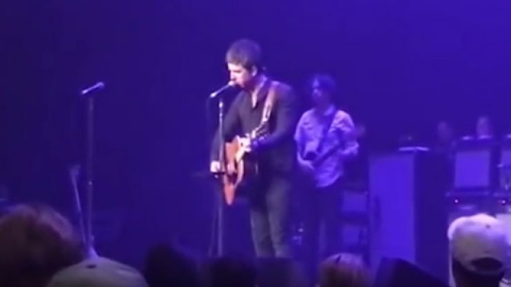 VIDEO: Noel Gallagher dedicates 'Half the World Away' to Caroline Aherne in moving tribute