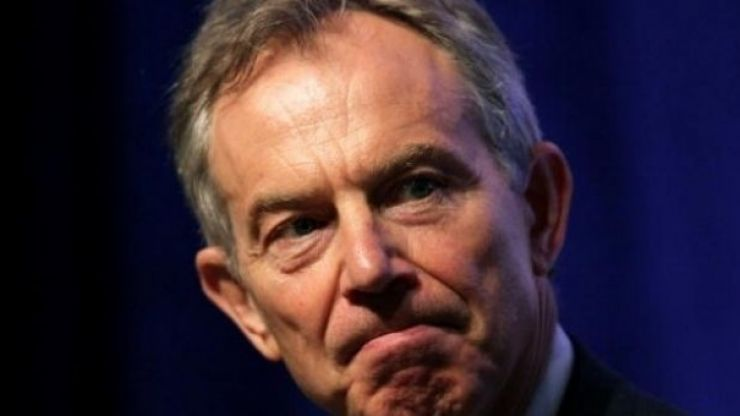 """Tony Blair has warned of """"devastating"""" consequences for peace in Northern Ireland if no-deal Brexit takes place"""