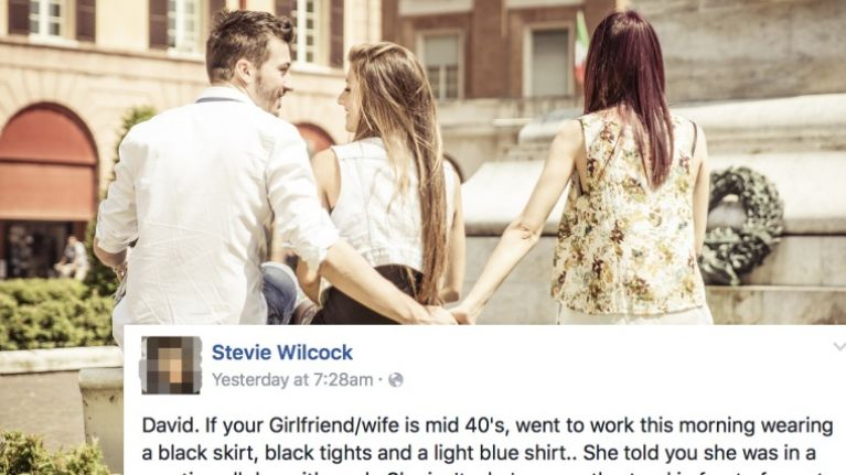 PICS: Man outs cheating woman on Facebook after catching her