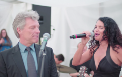 Watch Bon Jovi really, REALLY not want to sing at this wedding reception