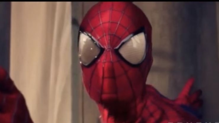 PIC: Tom Holland has posted the best Spider-Man selfie ever from the set of the movie