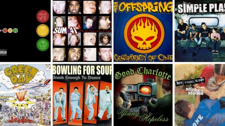 21 classic pop punk songs you're secretly still listening to