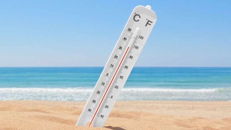 The weather for the next few days is very mixed but it could hit 26 degrees