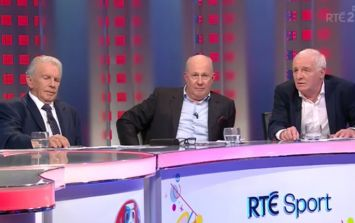 WATCH: Eamon Dunphy and Liam Brady's tribute to Johnny Giles may well move you to tears
