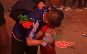 WATCH: Young Portugal fan consoling a distraught France supporter might make your heart melt