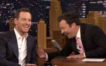 WATCH: Michael Fassbender and his dad are madder than a bag of spiders