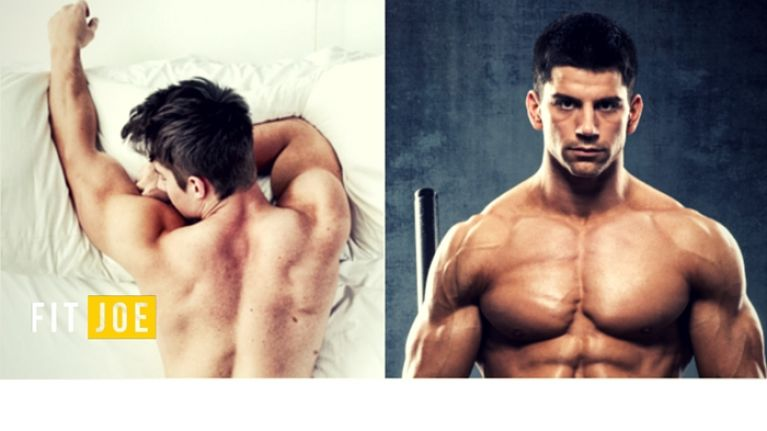 This is what getting 8 hours sleep does for muscle growth