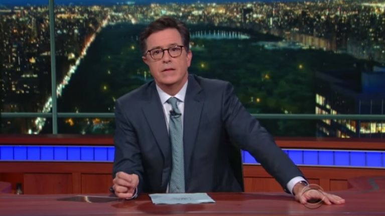 VIDEO: Stephen Colbert announces that he's had to kill off 'Stephen Colbert'