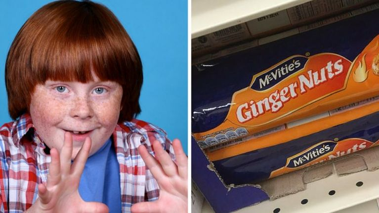 15 insults the token ginger of the group has to endure