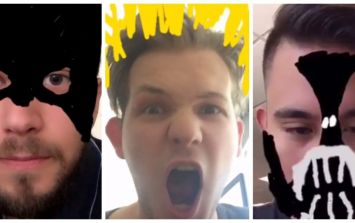 Snapchat's latest update lets you create chaos with filters