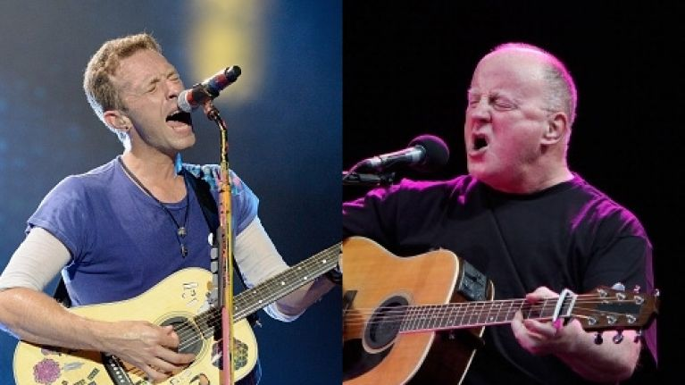 VIDEO: Coldplay covered a Christy Moore classic in Boston on