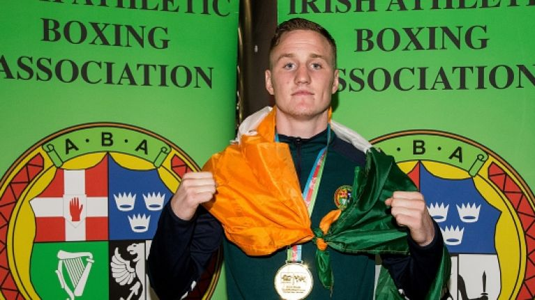 Michael O'Reilly named as Irish boxer who failed drugs test