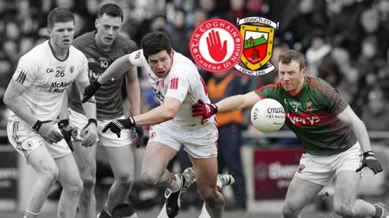 #TheToughest Choice: Who's going to win the All-Ireland quarter-final, Mayo or Tyrone?