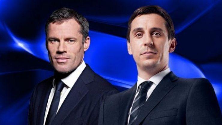 PICS: Gary Neville and Jamie Carragher mercilessly slag each other after Neville's Sky return confirmed