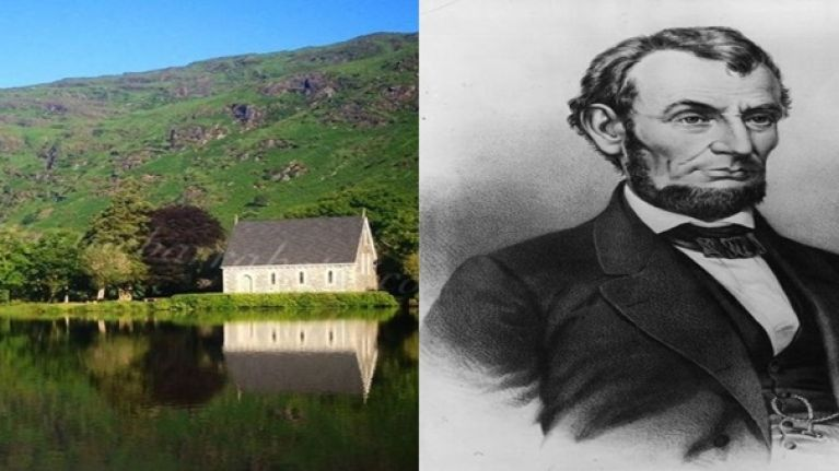 PIC: Drone image of famous Cork landmark looks remarkably like Abe Lincoln's head