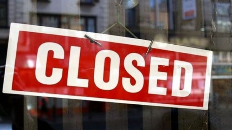 Two Irish food businesses were served with closure orders in February