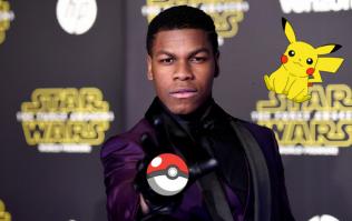 John Boyega is definitely playing Pokemon Go while filming Star Wars VIII