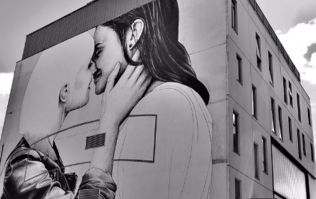 PIC: There's a wonderful Marriage Equality mural in Belfast and it's getting lots of love