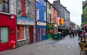 PIC: Galway pub readies itself for Paddy's Day with massive delivery of kegs stacked outside