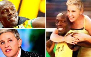 Ellen DeGeneres is accused of racism following Usain Bolt tweet
