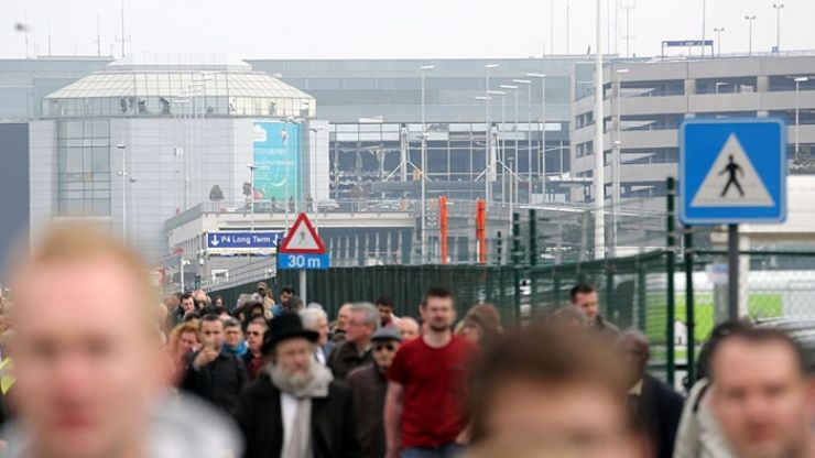 Bomb alerts issued on two passenger flights due to arrive at Brussels Airport