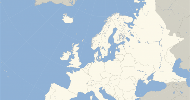 PIC This Map Shows The Most Common Surname In Every Country In - Common surname map us