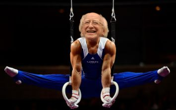 The OlympHiggs: What it might look like if our President was competing in Rio