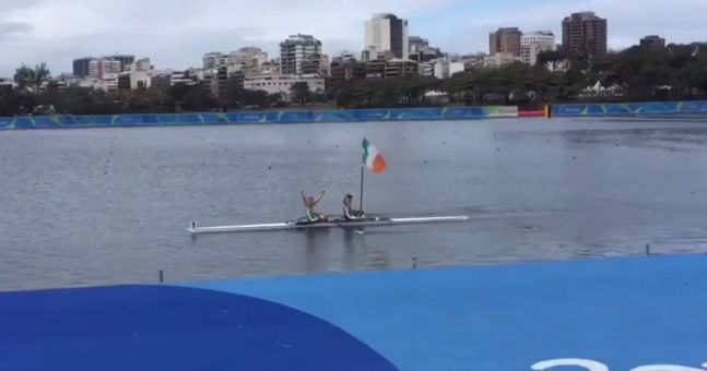WATCH: After winning Olympic medals, the O'Donovans' started rowing again just for the craic
