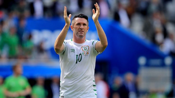Robbie Keane announces he is to retire from international football
