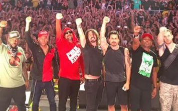 WATCH: Dave Grohl joins Prophets of Rage on stage to cover a punk-rock classic