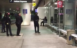 WATCH: Man in Zorro costume arrested as 'loud noises' cause chaos at LA Airport
