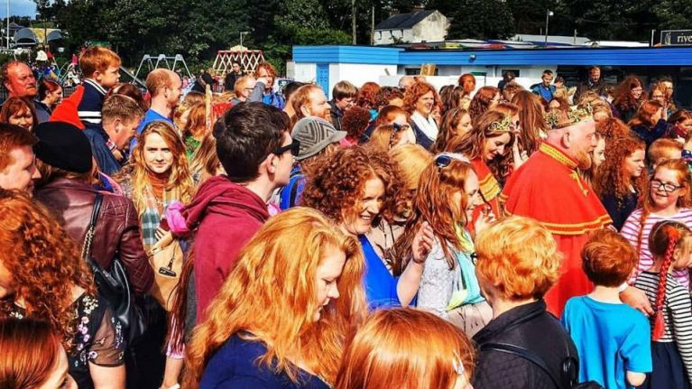 The special 10th anniversary celebration of Kiss A Ginger Day is taking place in Dublin this weekend