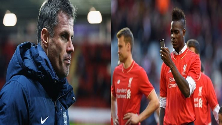 PIC: Mario Balotelli hits out at Jamie Carragher with 'hater' insult on Twitter