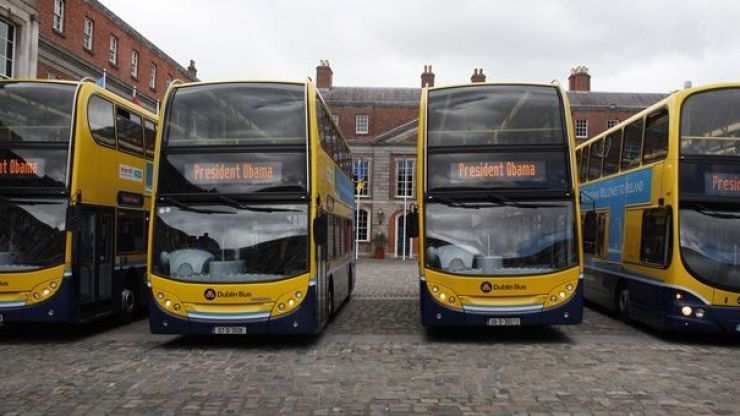 Dublin Bus has issued a warning ahead of Monday's rush-hour commute