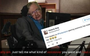 People absolutely loved Stephen Hawking's cameo on Channel 4's Paralympics show