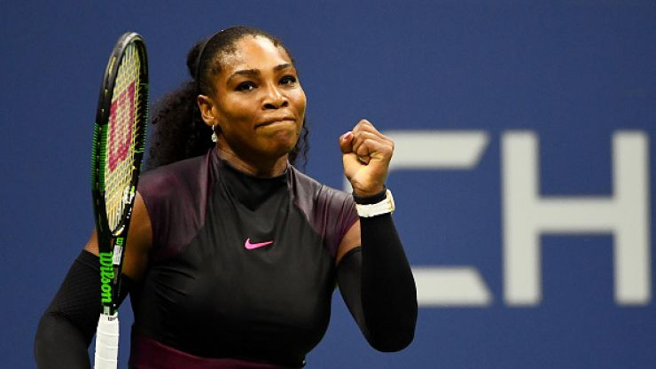 Roger Federer has defeated Serena Williams in a historic tennis match