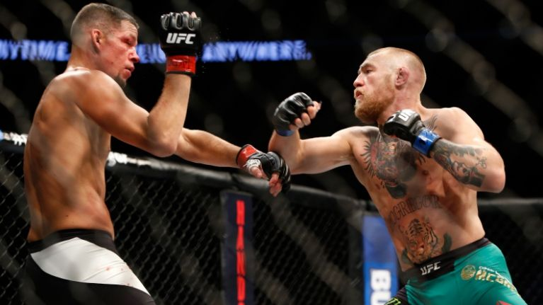Conor McGregor teases third fight with Nate Diaz
