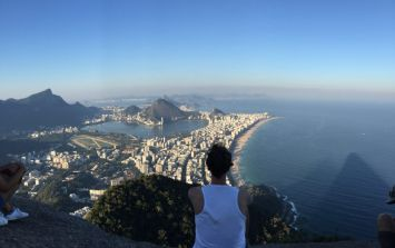 JOE Backpacking Diary #23 - A bucket list moment, robbery, GAA and more for our Irishman in Rio this week