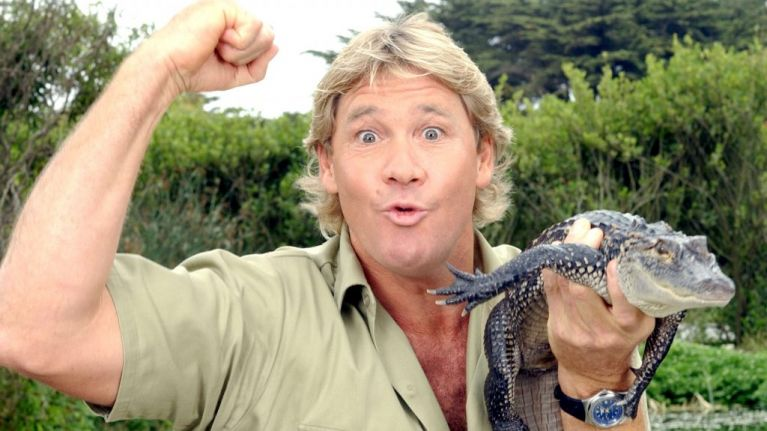 A very touching letter from Steve Irwin has been discovered ten years after his death