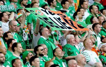 "Irish fans earn UEFA award for ""outstanding contribution"" to Euro 2016"