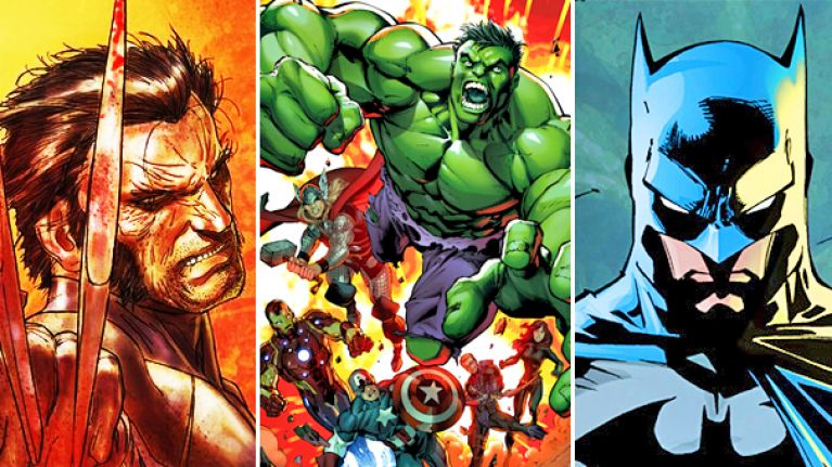 TOP TEN: The definitive list of the greatest comic superheroes of all-time