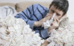 People who catch the flu are 6 times more likely to have a heart attack