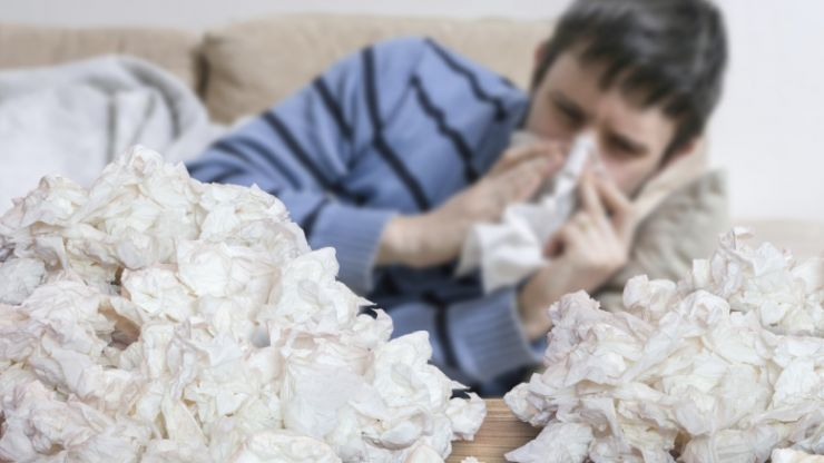 Do you have a blocked nose? This handy trick could help relieve you