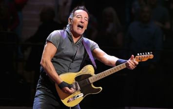 "Bruce Springsteen reveals he ""thought somebody was going to get killed"" at famous Slane gig"