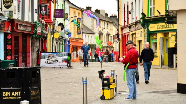 Shop Street in Galway is set to undergo a major renovation, starting next year