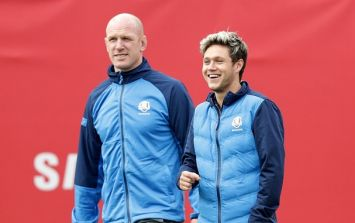PICS: Paul O'Connell, Huey Lewis, Niall Horan and Bill Murray form the greatest golf foursome of all time
