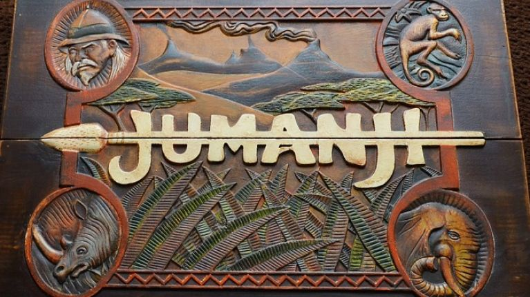 PIC: First look at the new Jumanji film starring The Rock