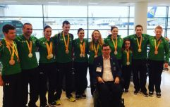 WATCH: Ireland's Paralympians receive a remarkable reception at Dublin Airport